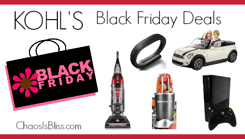 Kohl's Black Friday Deals 2014