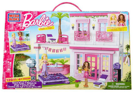 Mega Bloks Barbie Beach House