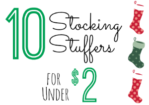10 Stocking Stuffers Under $2.00 (11/2/15)