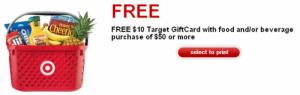 Target free gift card