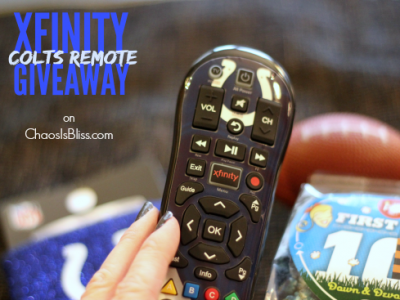 Xfinity Colts remote