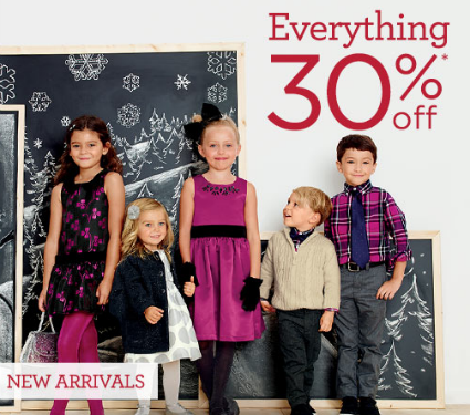 Gymboree Coupon Code | Save 30% + an Extra 20% *Today Only*