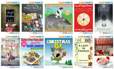 10 FREE Kindle Books | The Christmas Elf and more
