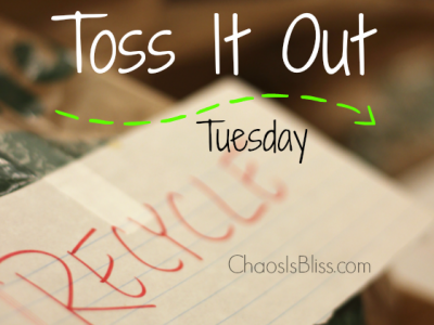 Toss It Out Tuesday