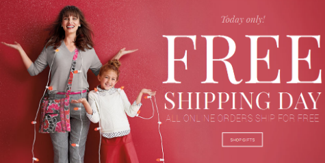 Free Shipping Day 2014 | No Minimum Order + Extra Discounts