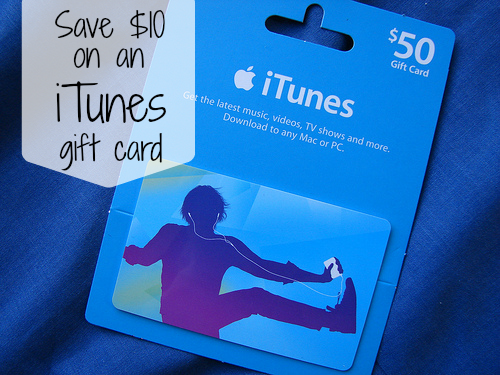 Save $10 on an iTunes Gift Cards at Kroger + GIVEAWAY
