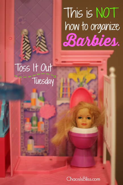 Toss It Out Tuesday: Barbies