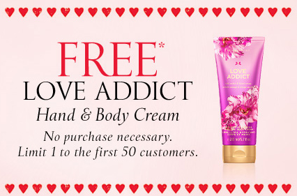 Victoria's Secret Valentine's Day freebie