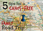 Driving on a family vacation doesn't have to be stressful! Here are 5 tips for a chaos-free family road trip.