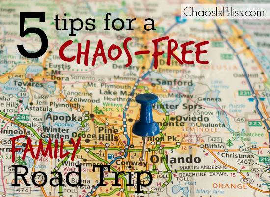 Driving on a family vacation doesn't have to be stressful! Here are 5 family travel tips for a chaos-free road trip.
