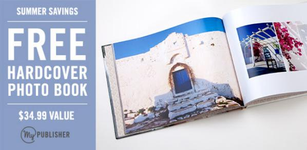 MyPublisher | FREE Hardcover Photo Book