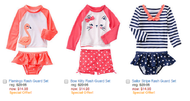 Gymboree Sale | Save 50% on Swimsuits and Shorts