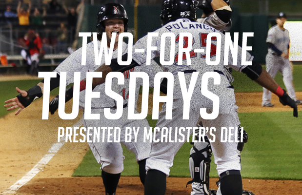 Indianapolis Indians 2-for-1 Tuesday