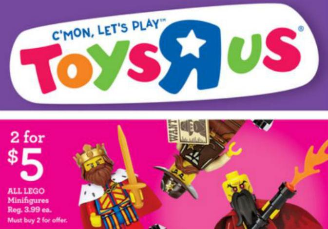 Toys R Us Lego Minifigures
