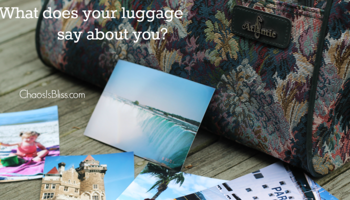What does your luggage say about you? | Atlantic Luggage Orlando Trip Giveaway