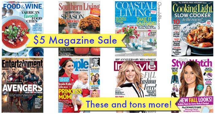$5 Magazine Sale | All You, Southern Living, People StyleWatch and More