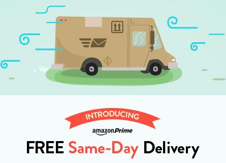Amazon same day free delivery