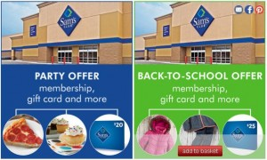 Sam's Club Zulily offer