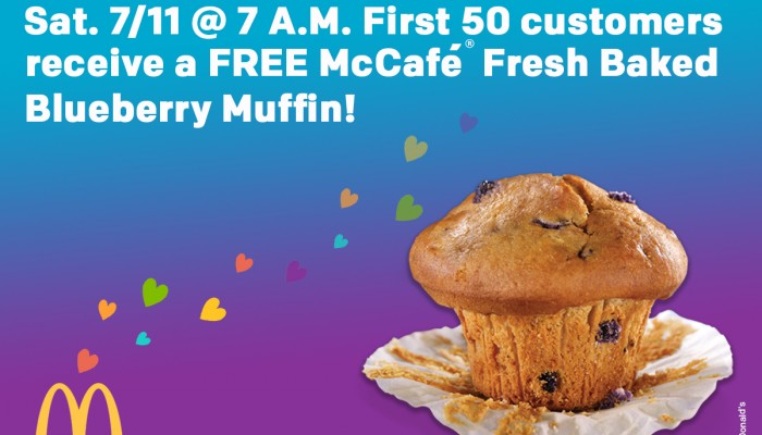 This Week on B105.7: Food Freebies from McDonald's, Scotty's Brewhouse and more!