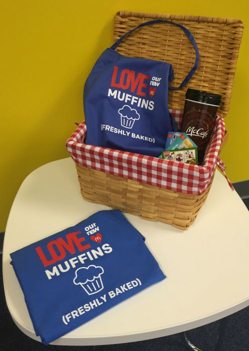 McDonald's Fresh Baked Muffins giveaway