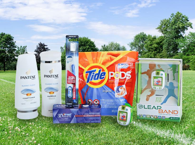 P&G LeapBand prize package