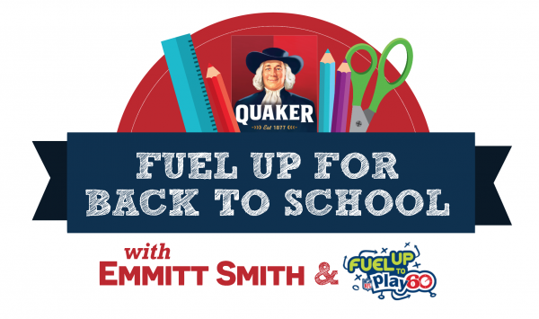 Fuel Up to Play 60 with Quaker and Emmitt Smith
