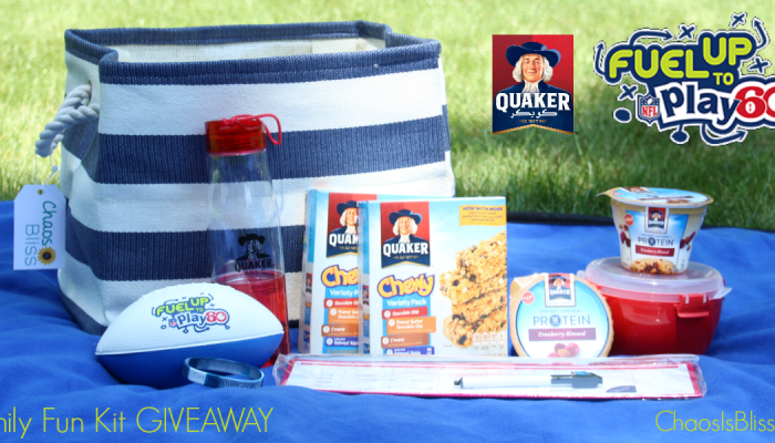 Quaker Fuel Up to Play 60 with Emmitt Smith | GIVEAWAY