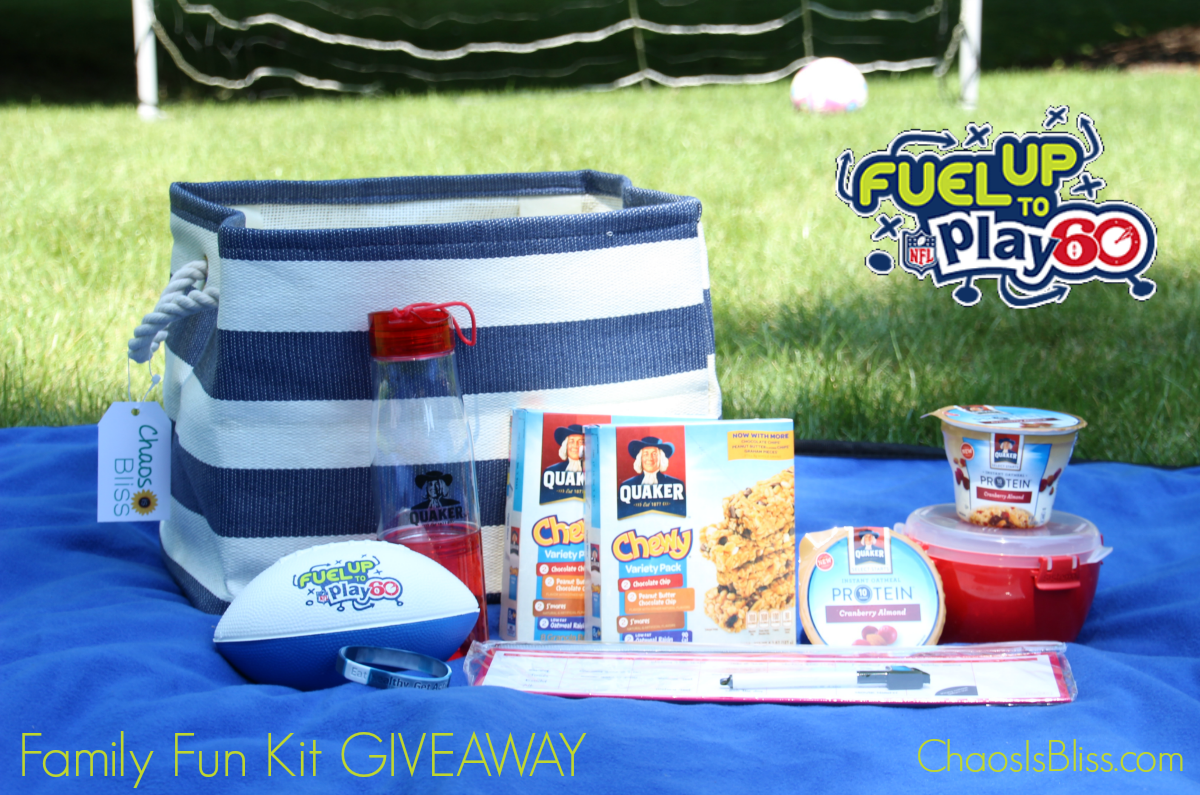 Quaker Fuel Up to Play 60 Giveaway