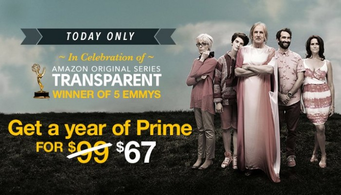 Amazon Prime Membership Sale *Today Only*