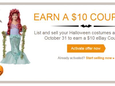 Ebay Halloween offer