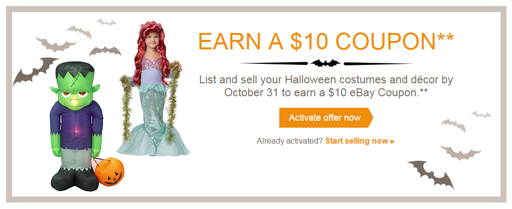 Ebay Halloween offer