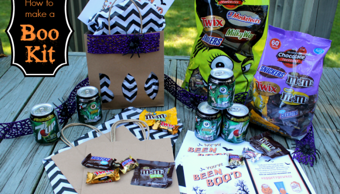 How to Make a BOO Kit for Halloween {with Video How-to}