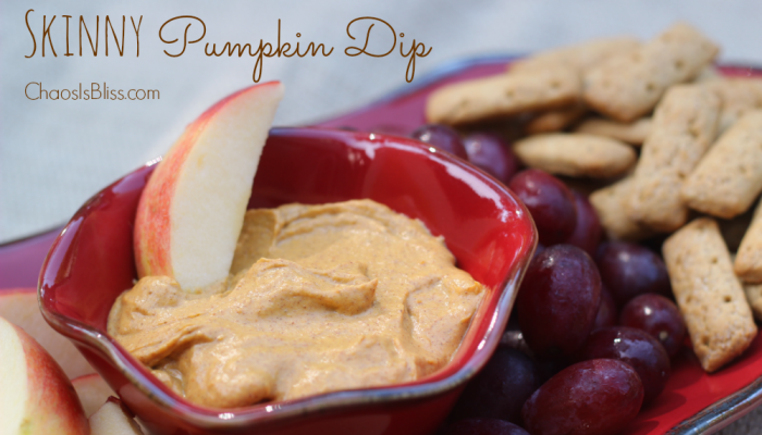 Skinny Pumpkin Dip Recipe