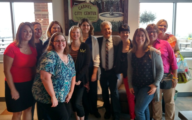 Market District blogger meet & greet with Marc Summers!
