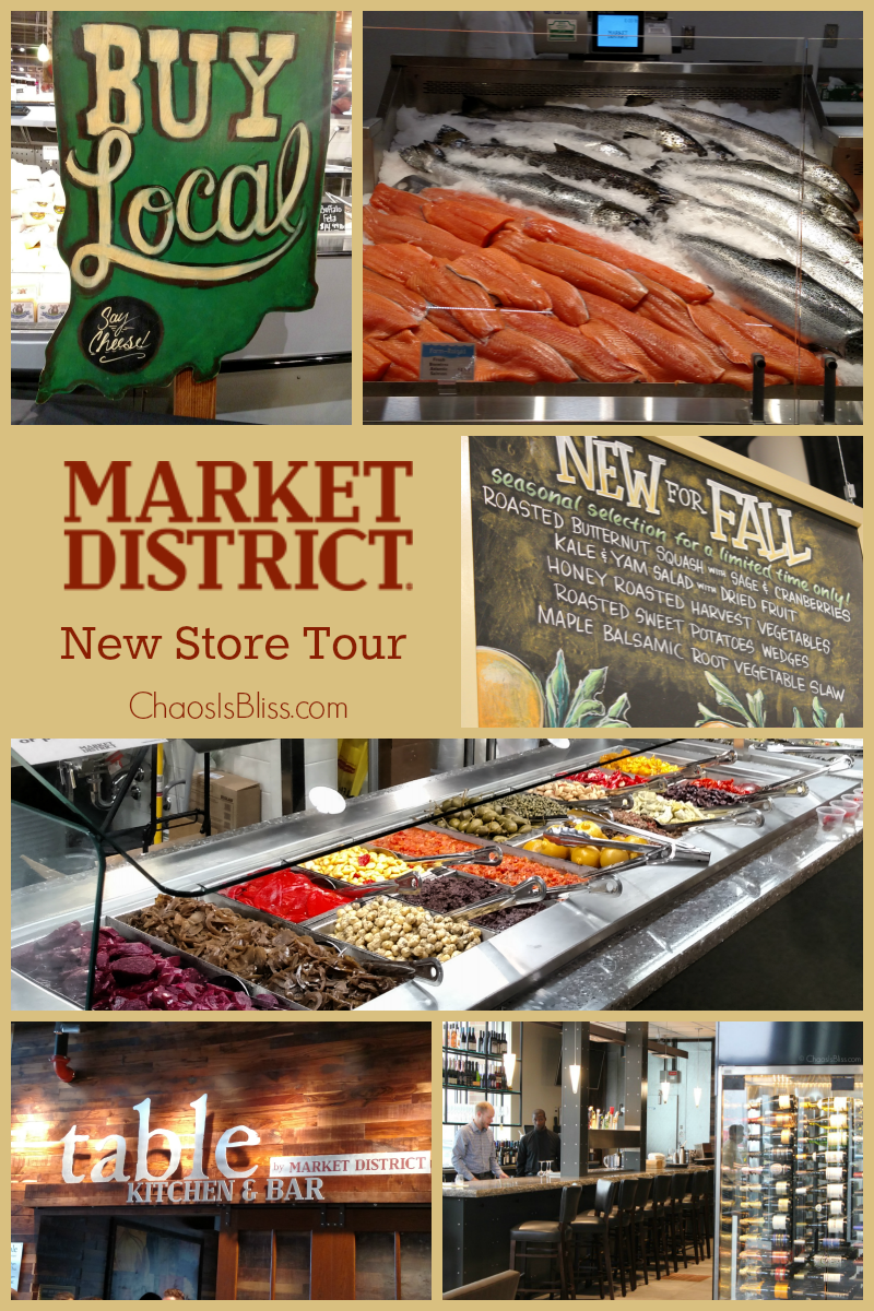 Learn all about the new Market District that just opened, with this grocery store tour!