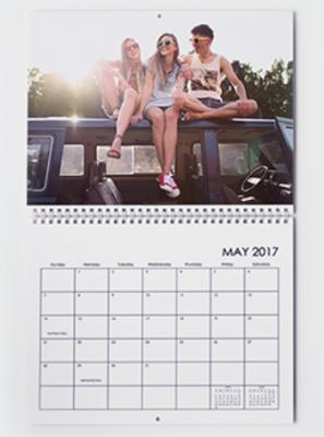Amazon Print calendar