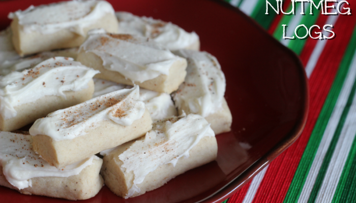 Nutmeg Logs Christmas Cookie Recipe