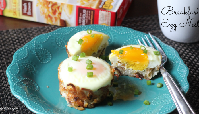 Breakfast Egg Nests Recipe