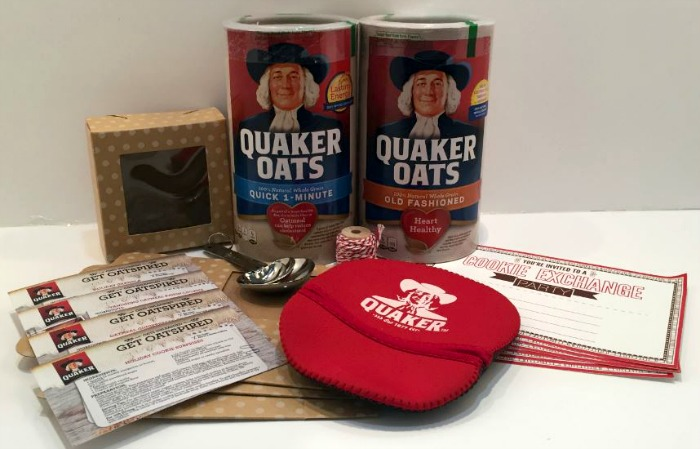 Quaker 100th Anniversary Canister Kit giveaway