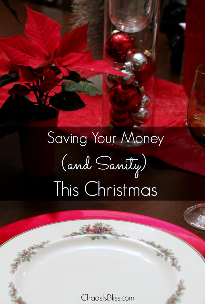Buying gifts isn't the only way we overspend at Christmas. Here are some tips on how to save money and sanity this Christmas.