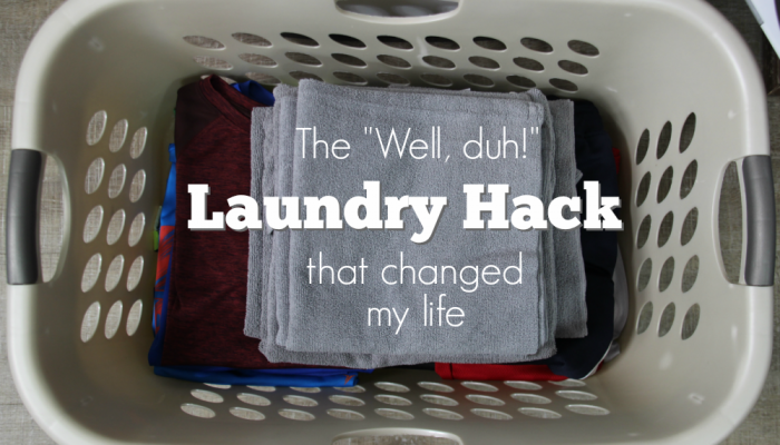 "A ""well, duh!"" moment after I figured out this laundry hack that now saves my time and sanity."