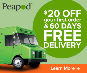 Many Peapod promo codes are for specific cities, so don't be discouraged if your city isn't currently offering a discount. You can save even more at Peapod by choosing to pick up your order instead of opting for delivery%().