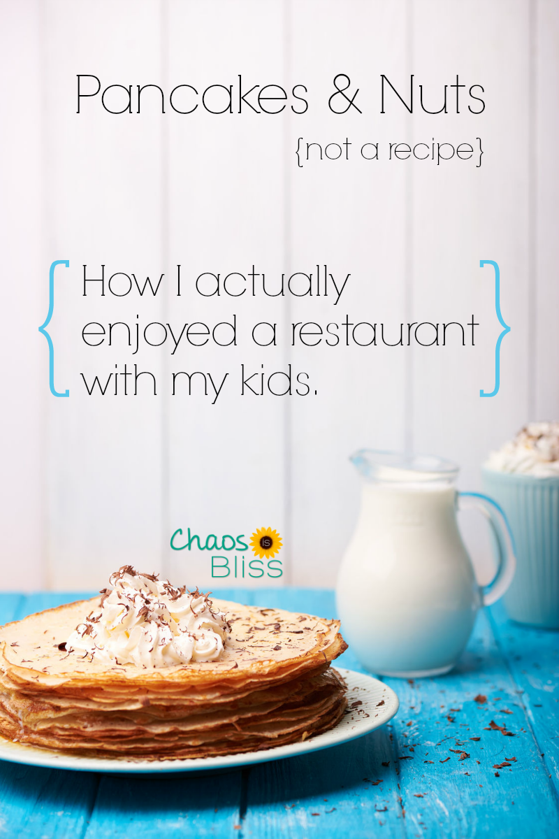 Just when I thought family fun was impossible in a restaurant, it actually happened. How to enjoy a restaurant with kids.