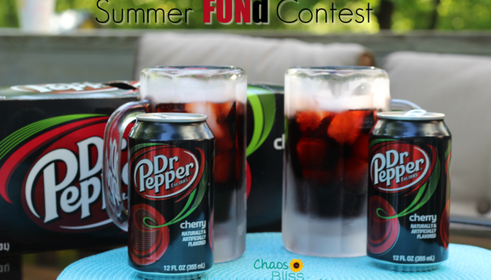 Summer FUNd contest with Dr Pepper and Walmart