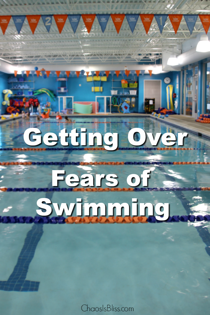 What I did to help get my child getting over fears of swimming.