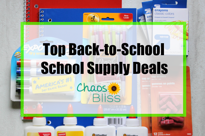 Top back to school supply deals for this week.