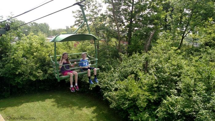 Fort Wayne Childrens Zoo Skylift