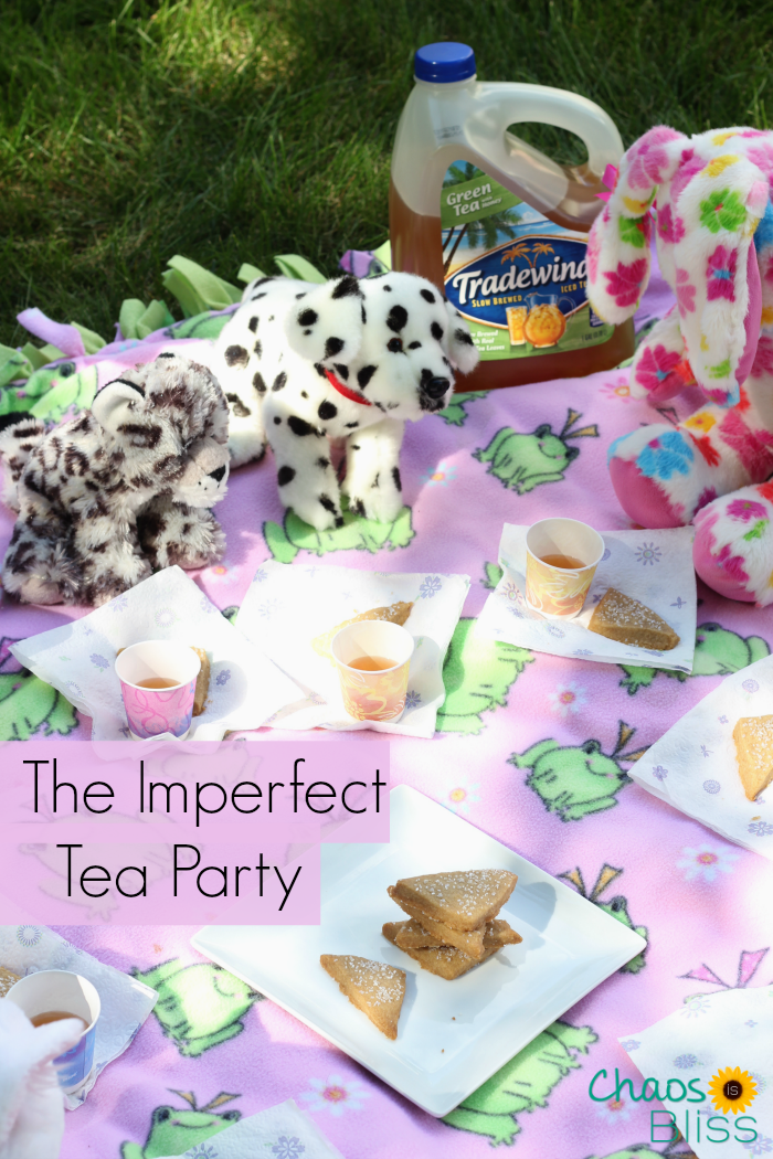 Plan an Imperfect Tea Party, and savor moments with your children without feeling like everything has to be perfect!