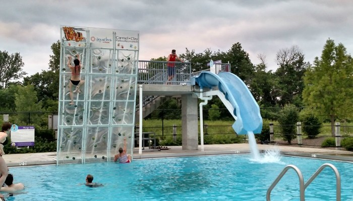 Looking for summer fun in the Indy area? Visit The Waterpark at Monon Community Center in Carmel, Indiana.