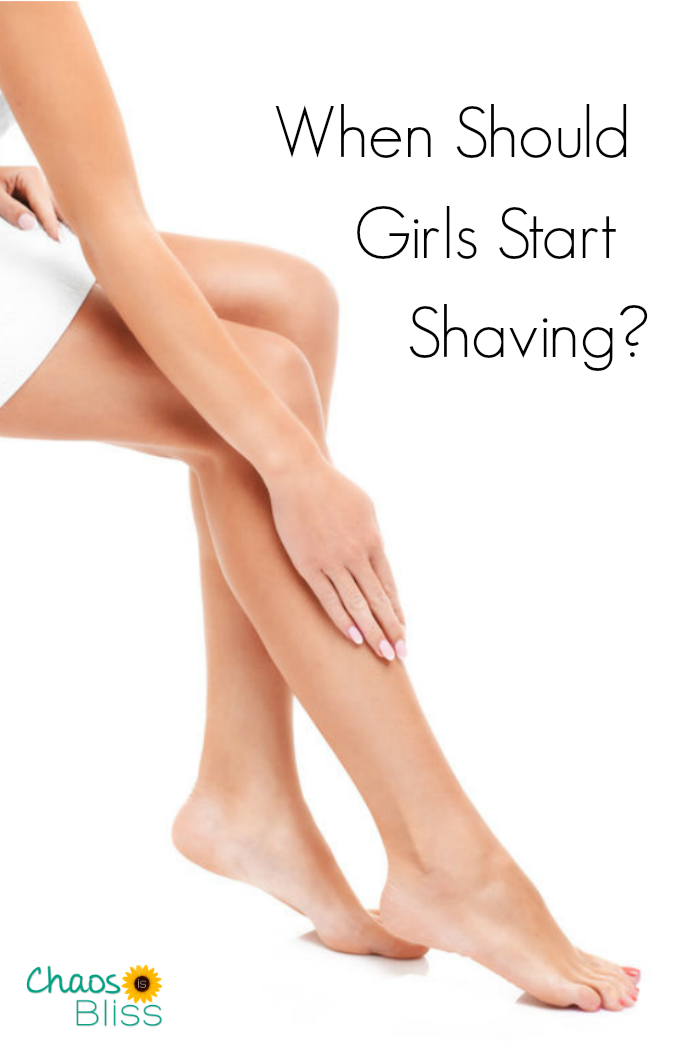 If you have a tween girl, you might need the answer to this question: When should girls start shaving?